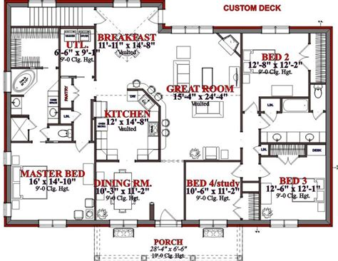 4 Bedroom Floor Plans 2905 Square 4 Bedrooms 2 Batrooms 2 Parking Space On 2 Levels House Plan 2938 All