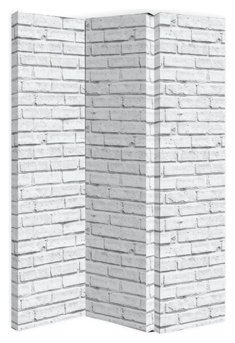 Arthouse Room Divider Arthouse White Brick Room Divider Screen