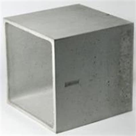 Nachttisch Quader by W 252 Rfel Betonware De
