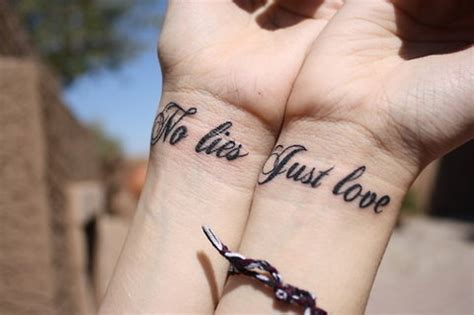 Tattoo Just Love | love wrist tattoo tumblr