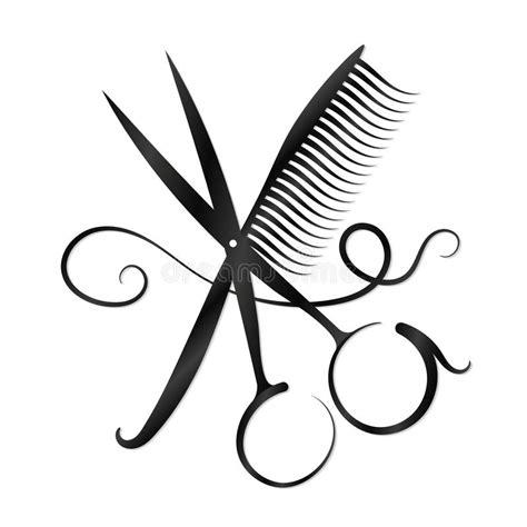 forbici clipart siluetta di forbici pettine e dei capelli