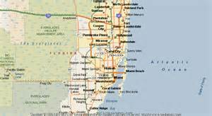 where is opa locka florida on map map of opa locka