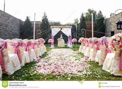backyard wedding free outdoor wedding royalty free stock images image