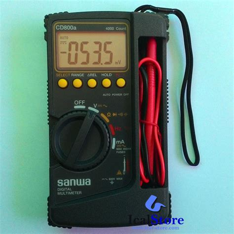 Jual Multitester Digital Sanwa multitester multimeter digital sanwa cd800a ical store