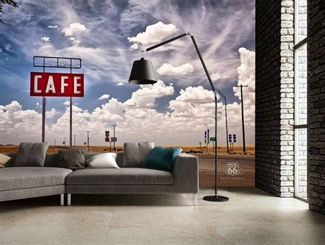 Wall Murals Route 66 Route 66 Wallpaper Murals Store
