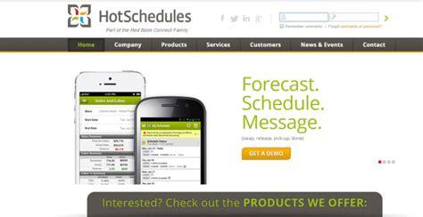 hot schedule hotschedules login www hotschedules com