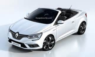 Renault Megane Decapotable Will The New Renault Megane Cabriolet Look Like This