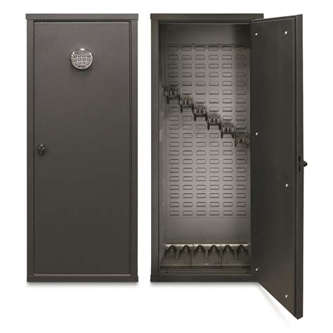 secureit tactical model 52 six gun storage cabinet secureit tactical model 52 gun cabinet holds 6 rifles with