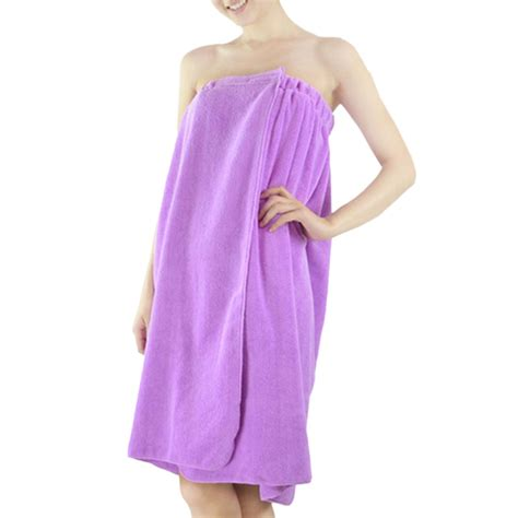 bath towel wraps velcro opentip toptie s microfiber terry spa bath