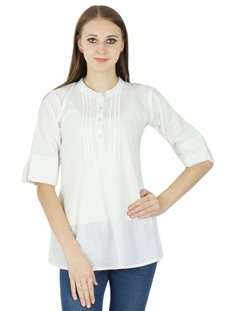 Tops Style by Indian Fashion Clothing Summer Boho Top Sleeve