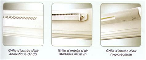 s駱aration vitr馥 cuisine grille aeration pour fenetre pvc avec tableau isolant