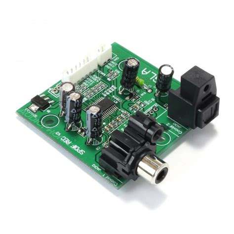 1 Audio Source 2 Outputs by Cs8416 Source Selector Module 2 Spdif Inputs To 1 I2s