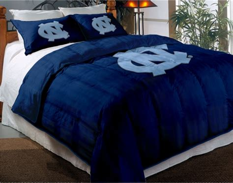 college comforter sets north carolina unc tar heels college twin chenille