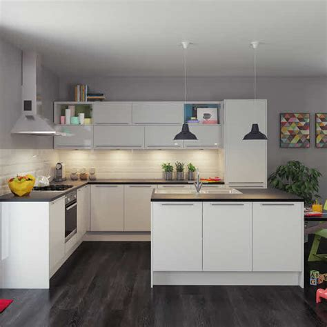 magnet kitchen designs apollo white fitted kitchen by magnet whitekitchen island kitchen pinterest fitted