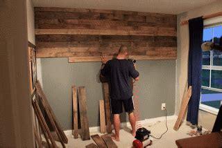 couvrez le mur d'une chambre avec palettes de boismeuble