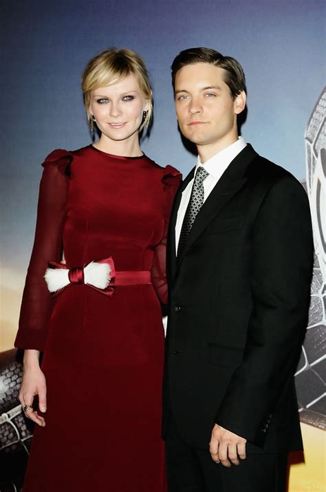Spider 3 Premiere Lands In by Tobey Maguire Kirsten Dunst Actors Who Their Own