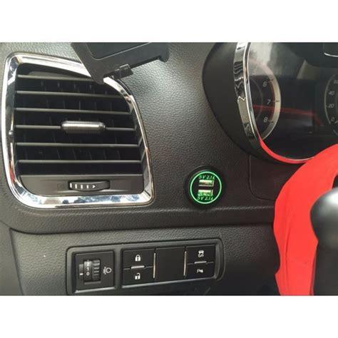 porta usb per auto presa alimentazione doppia usb 1a 2 1a da incasso per auto