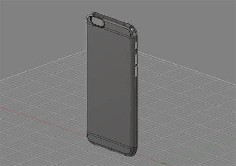 Casing Iphone 6 Plus Model Like Iphone 7 Edition Housing Backdoor 1 all iphone 6 6 plus 7 7 plus cad cases covers 3d model ige igs iges stp