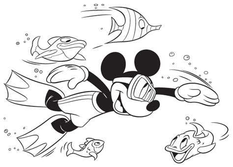 disney coloring pages summer print it