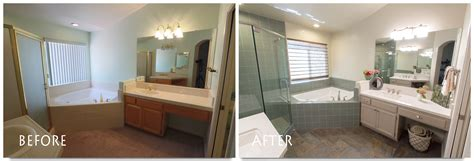 before and after master bathroom remodels bathroom remodel pictures before and after bathroom
