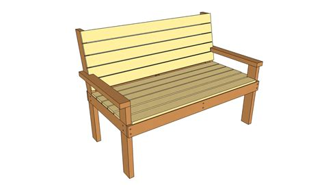 simple outdoor bench seat plans discover woodworking