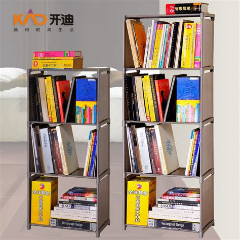 4 layers non woven fabric bookshelf commodity shelf multi