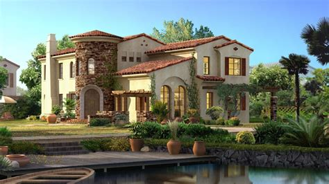 spanish inspired home decor spanish style homes with adorable architecture designs