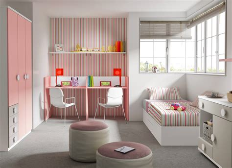 Formidable Amenager La Chambre De Bebe #3: chambre-bebe-fille-avec-lit-jumeaux-evolutif-glicerio.jpg