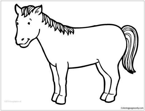 halloween horse coloring pages cute horse 1 coloring page free coloring pages online
