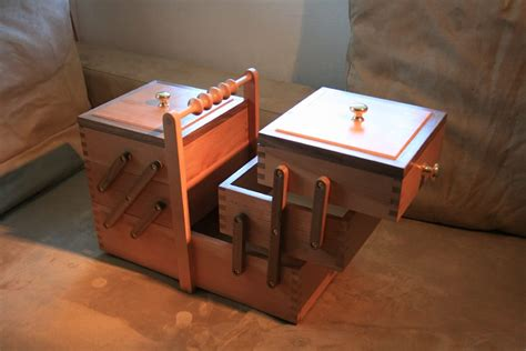 wooden sewing box woodworking plans  plans