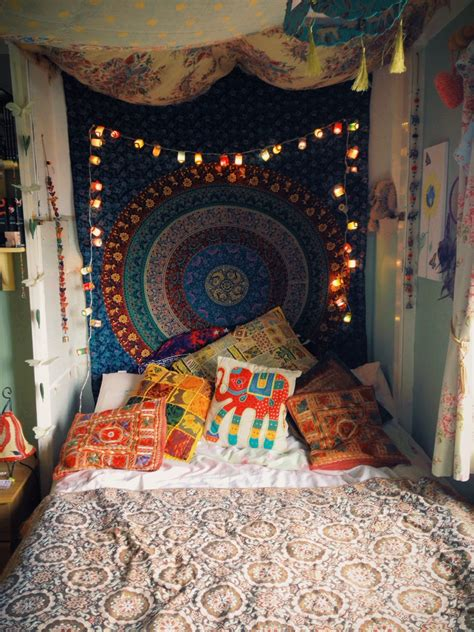 hippie bedrooms 16 bedroom decorating idea with tapestries royal furnish