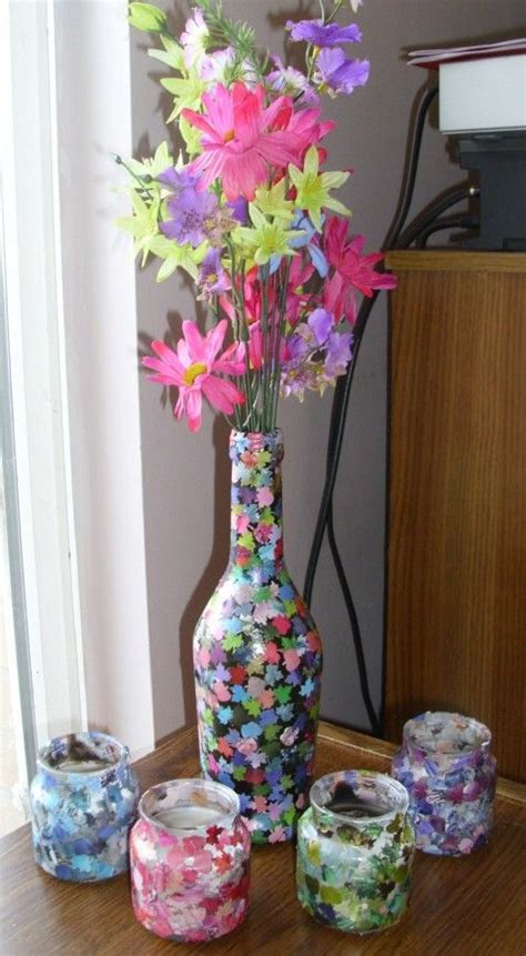 Crafts With Vases by Vase Crafts Craft Ideas And Vase On