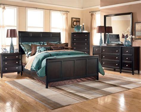 ashton castle bedroom set ashley carlyle panel bedroom set b371 black bedroom