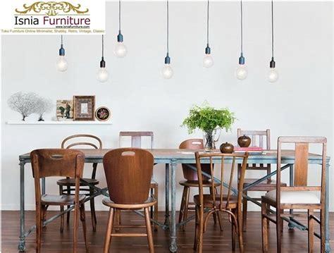 Meja Makan Paling Murah jual meja kursi makan vintage kayu jati murah desain unik
