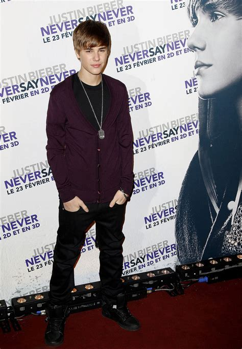 Justins Premiere by Justin Bieber At The Premiere Of Justin Bieber