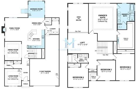 columbia floor plans columbia model in the fairfield ridge subdivision in plainfield illinois homes by marco