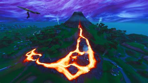 fortnite   volcano vent  zipline   vehicle
