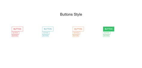 bootstrap responsive color full buttons with hover effect bootstrap responsive simple hover effect buttons