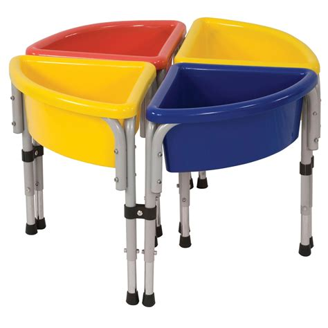 sand and water table with lid 4 station sand water table with lids