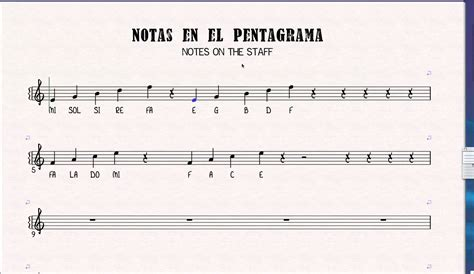 recogedor de notas dos notas en el pentagrama youtube