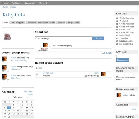 theme drupal social network open source social networking matchup buddypress vs