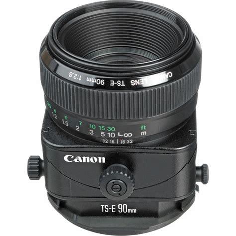 Lensa Canon Tilt Shift canon ts e 90mm f 2 8 tilt shift lens 2544a003 b h photo