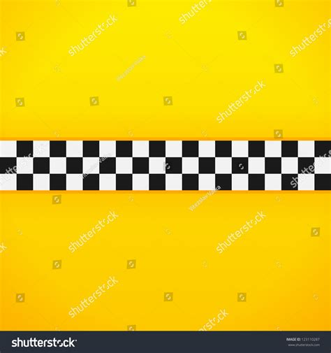 pattern making services nyc yellow checkerboard pattern taxi black white stock vector