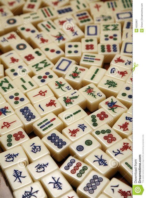 pattern mahjong games mahjong tiles royalty free stock photography image 6022867