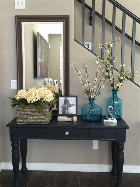 foyer wall ideas best 25 black entry table ideas on black
