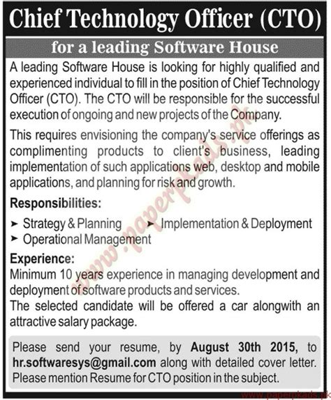 chief technology officers jang ads 23 august