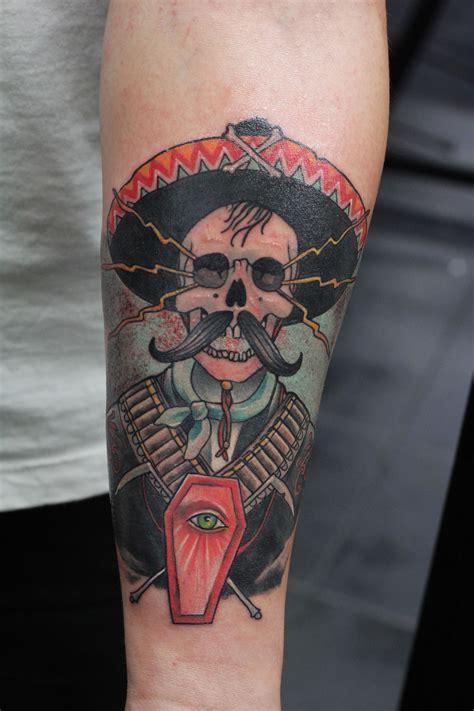 mexico tattoo school color mexican mexixan