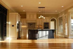 open house plans with large kitchens one story house plans cottage house plans