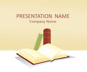 Book Powerpoint Templates by Books Powerpoint Template Templateswise