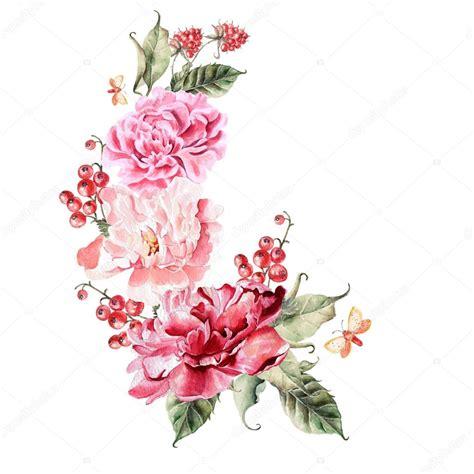 fiori di peonia bouquet di fiori di peonia frutti di bosco ribes e